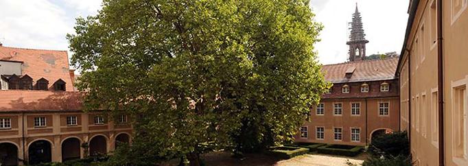 Alte Universität Innenhof UCF
