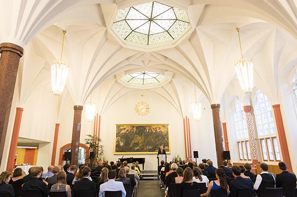 Erasmus Prize 2016 Award Ceremony Meckelhalle