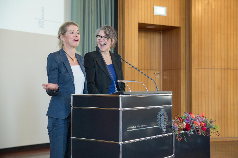 Prof. von Reden and Dr. Glunk