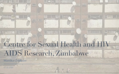 M. Chirikure – Centre for Sexual Health and HIV AIDS Research