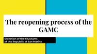 C. Giardi – Reopening Process GAMC