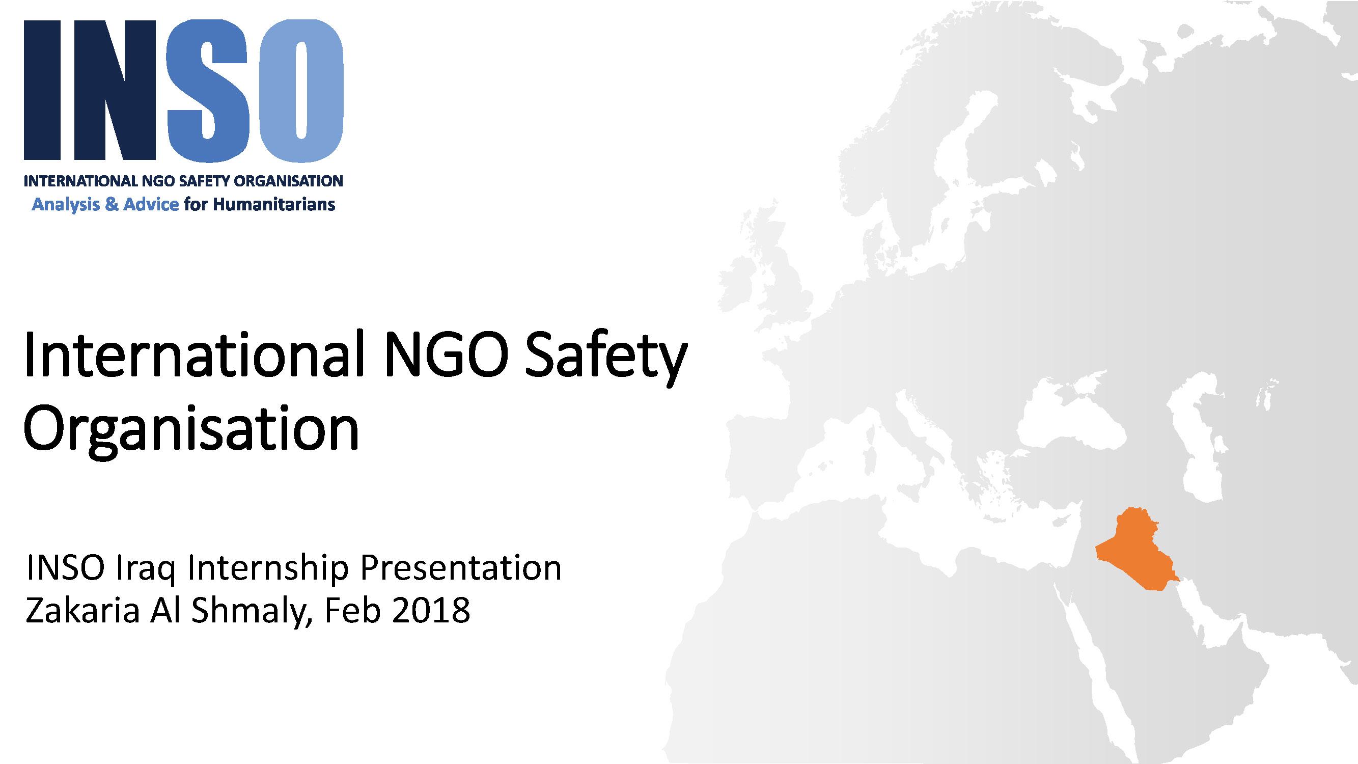Z. Shmaly – International NGO Safety Organisation