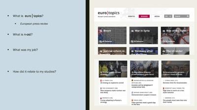 R. Wadenpohl – Internship at euro│topics