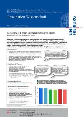 Faszination-Wissenschaft-Poster