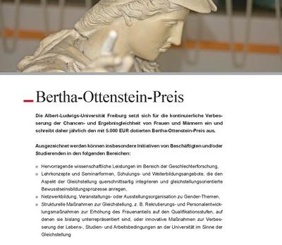 Bertha Ottenstein Prize 2017
