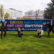 ECHR Moot Court Outside