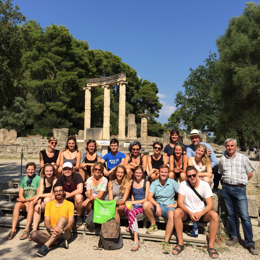 Group Picture Greece Excursion