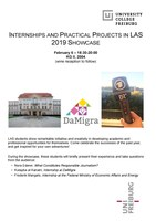 Internships and Practical Projects