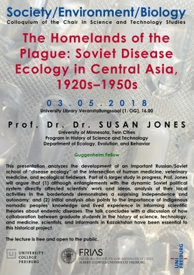 Lecture Susan Jones