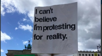 March for Science Berlin Reality
