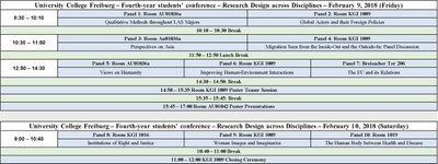 UCF Research Design Conference 2018