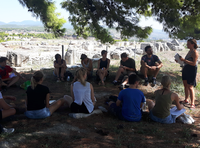 Talk at Site Greece excursion