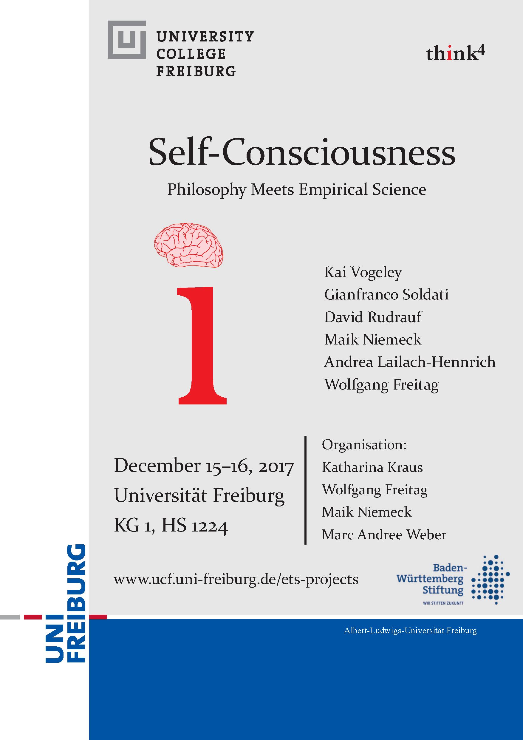 Workshop Self-Consciousness