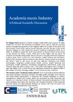 Academia meets Industry Krech Info