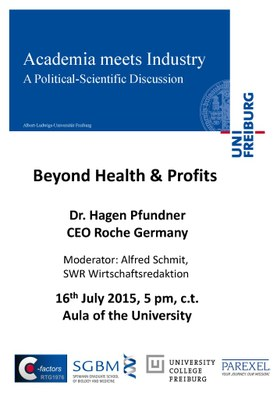 Academia meets Industry Pfundner